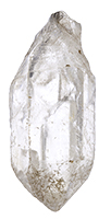 Double terminated clear quartz crystal #QC3