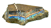 1 rough boulder opal #RB487