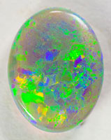 Solid cut black opal #ALRS25