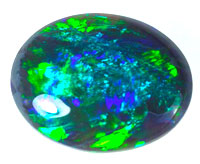 Solid black opal #CBO5