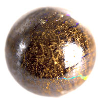 boulder matrix opal bead #MB2