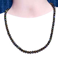Collier de perles d'opales matrix massives #SBN10