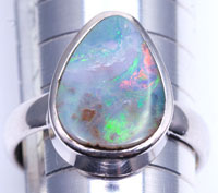 Sterling silver 925 opal ring #JGR28